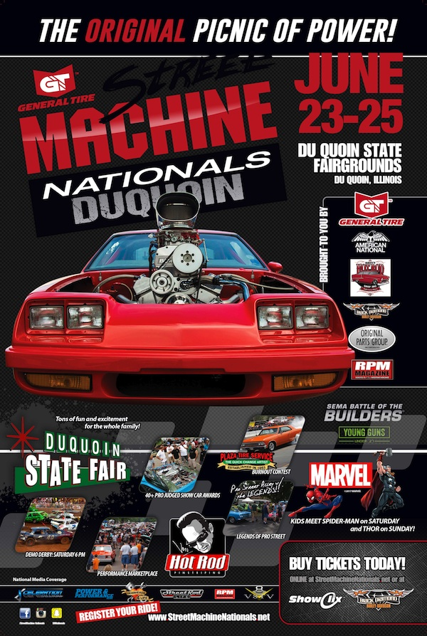 2017 Street Machine Nationals Ad