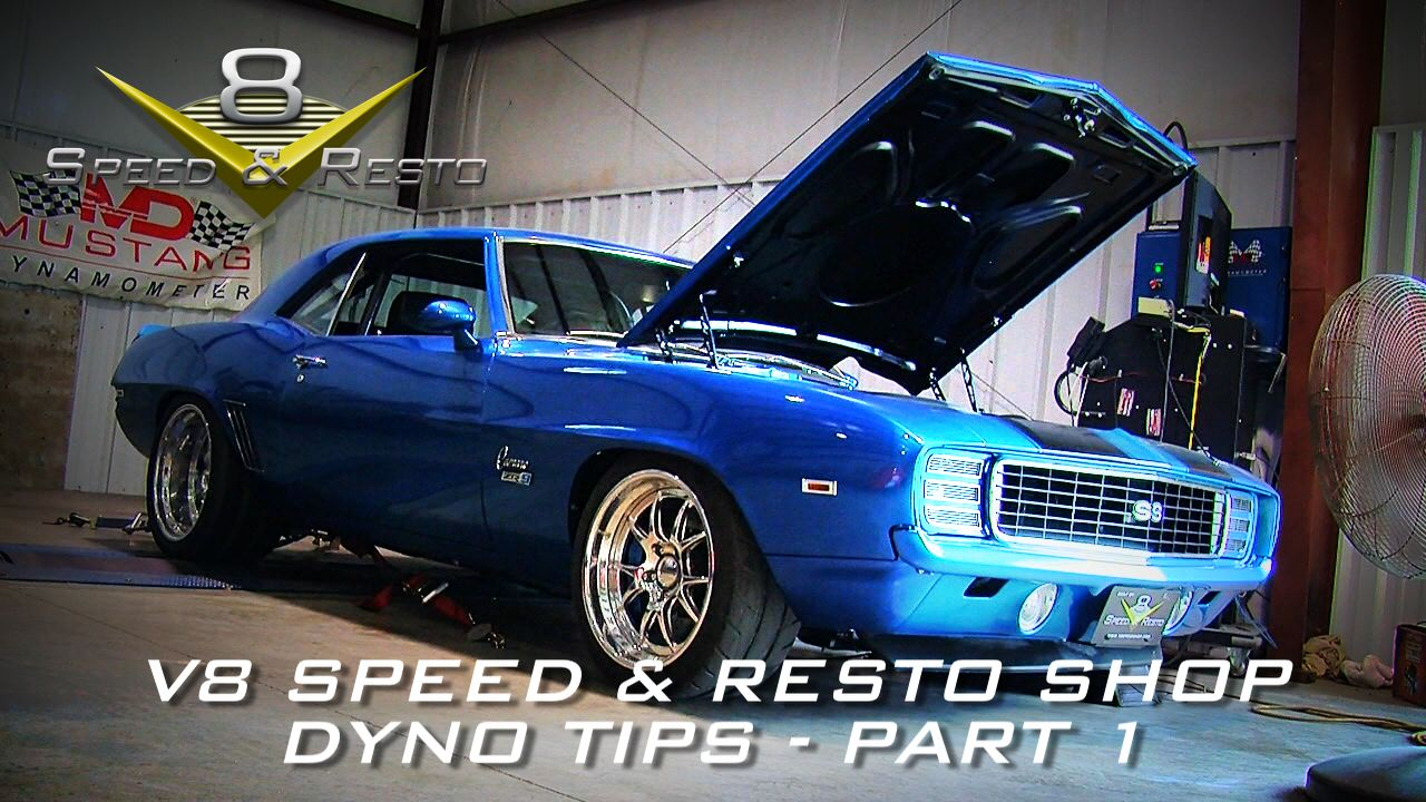Classic And Muscle Car Restoration Services At V Speed And Resto Shop - Muscle car tuning shop